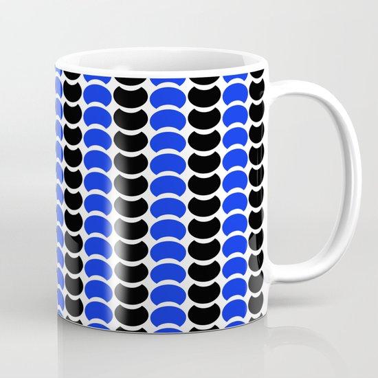 HobNob BlueBlack Print, Canvas and Laptop/iPad Skin Mug