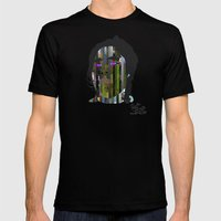 Input, Lost In Wonder, L… Mens Fitted Tee Black SMALL