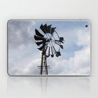 Left to the Elements...Abandoned Windmill Laptop & iPad Skin