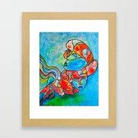 Water Souls Framed Art Print
