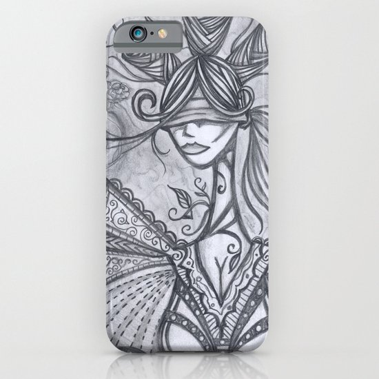 Blind Sensibility (Sketch) iPhone & iPod Case