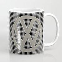 VW Silver Grill Mug
