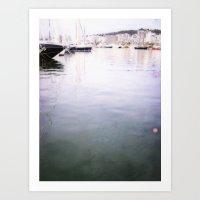 Palma Harbour Art Print