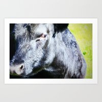 I'm Not Sure About You Art Print