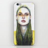 Yellow Lemongrass iPhone & iPod Skin