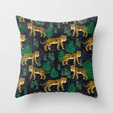 Safari Tiger By Andrea L… Throw Pillow