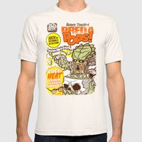 PredaPOPS! Mens Fitted Tee Natural SMALL