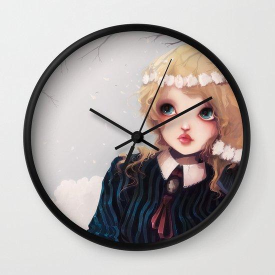 Quelque part... Wall Clock