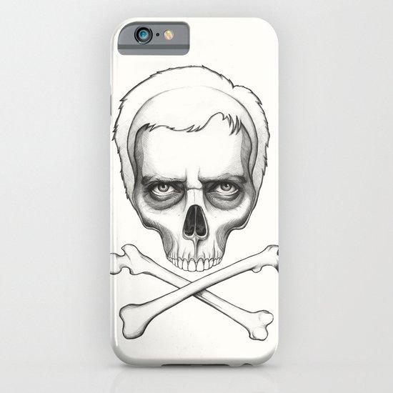 Everybody Dies - House MD Skull Crossbones iPhone & iPod Case