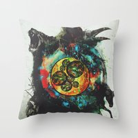 Circle Of Life Surreal S… Throw Pillow
