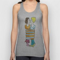 hold me tight Unisex Tank Top
