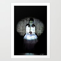 I Let My Brother Go To T… Art Print