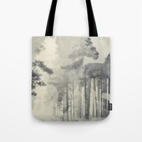 Like a Horse in the woods Tote Bag