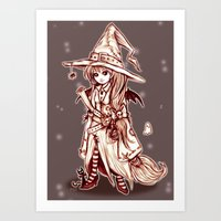 Maya the Spellcrafter Art Print