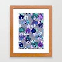 Crystallized Orchid Framed Art Print