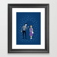 A Helping Hand Framed Art Print
