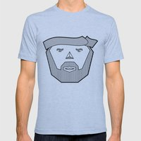 Dude Mens Fitted Tee Athletic Blue SMALL
