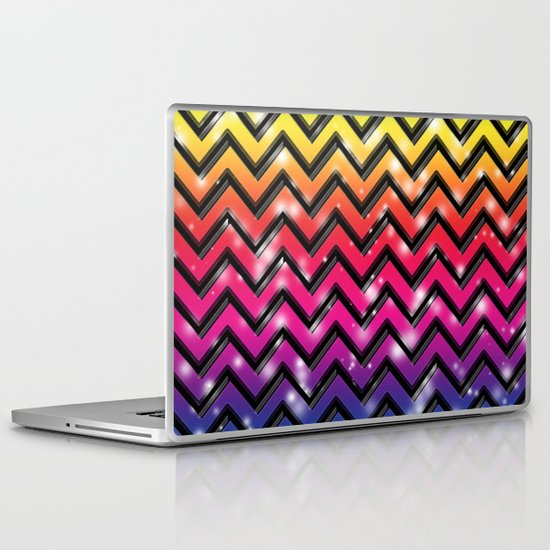 Rock Down To Electric Avenue. Laptop & iPad Skin