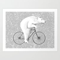 Polar Express Art Print