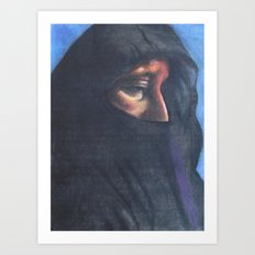 Moroccan Woman Art Print