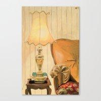 Ugly lamp 2 Canvas Print