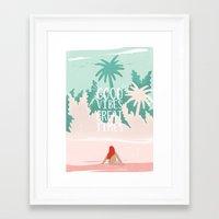 Good Vibes Great Times  Framed Art Print