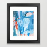 Cheers to Adventure Framed Art Print