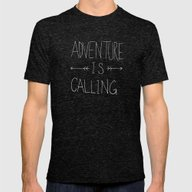 Adventure Island Mens Fitted Tee Tri-Black SMALL
