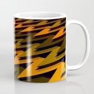 3D Chevrons Mug
