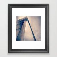 The Arch Framed Art Print