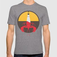 Lobster House Mens Fitted Tee Tri-Grey SMALL