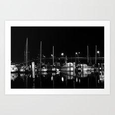 docked up  Art Print