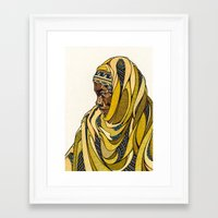 Rwanda Framed Art Print
