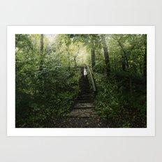 The Secret Forrest Art Print
