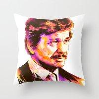 Charles Bronson: BAD ACTORS Throw Pillow