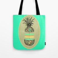 Sliced Pineapple Tote Bag