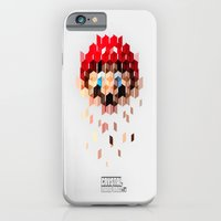 iPhone & iPod Case featuring Crystal Mario by krayon