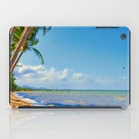 Coconut palms in Tropical North Queensland iPad Case