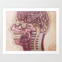Music Mind Art Print