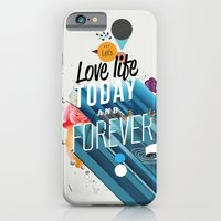 iPhone & iPod Case featuring Everything Forever by Kavan and Co