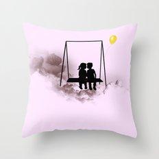 Dreaming Kids Throw Pillow