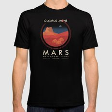 Mars Camp Mens Fitted Tee Black SMALL