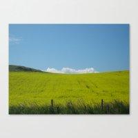 Scottish Countryside - Y… Canvas Print