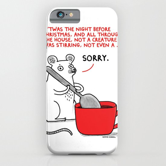 'Twas the Night before Christmas ... iPhone & iPod Case