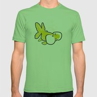 Bubble Eye Goldfish Mens Fitted Tee Grass SMALL