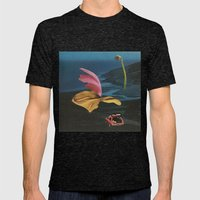 Night Moves Mens Fitted Tee Tri-Black SMALL