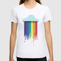 What Clouds Are Made Of Womens Fitted Tee Ash Grey SMALL