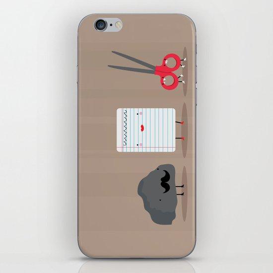 Rock paper scissors iPhone & iPod Skin