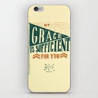 7/52: 2 Corinthians 12:9… iPhone & iPod Skin