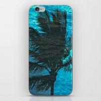 Swimming Palm iPhone & iPod Skin